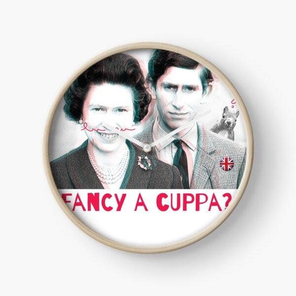 Fancy a cuppa? Clock