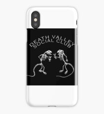 Death Valley Social Club iPhone Case