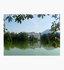 Reflection - Sound of Music - Austria Photographic Print
