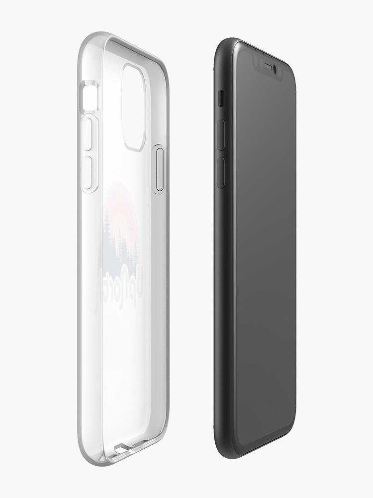 Coque iPhone «Retro Up North», par DonaldCarter