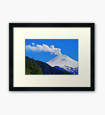 Villarrica Volcano Chile - Explore Feature 02/29/2012 Framed Print