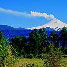Villarrica Volcano Chile II by Daidalos