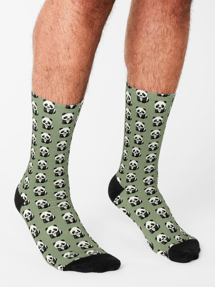Alternate view of Panda Socks