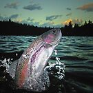 Trout Bum Paradise by Brian Pelkey