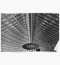 Aeropuerto Terminal F2 Charles De Gaulle Paris Poster