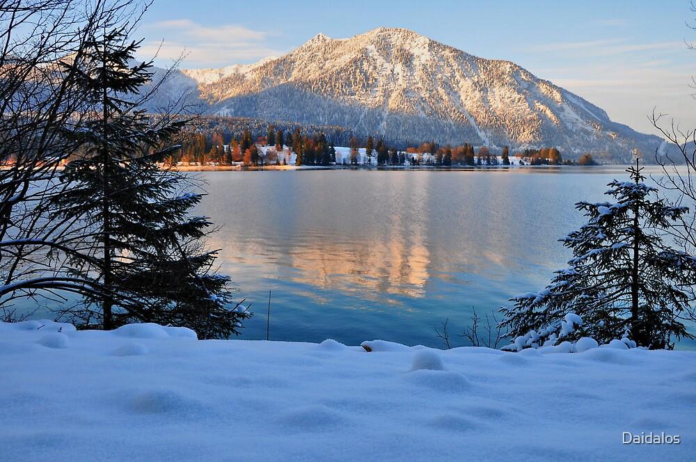 winter scene germany by Daidalos