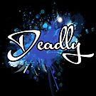 Deadly graffiti blue by Beautifultd