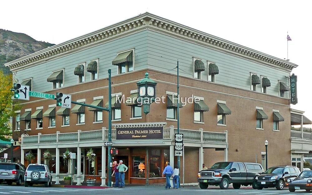 General Palmer Hotel, Durango, Colorado, USA by Margaret  Hyde