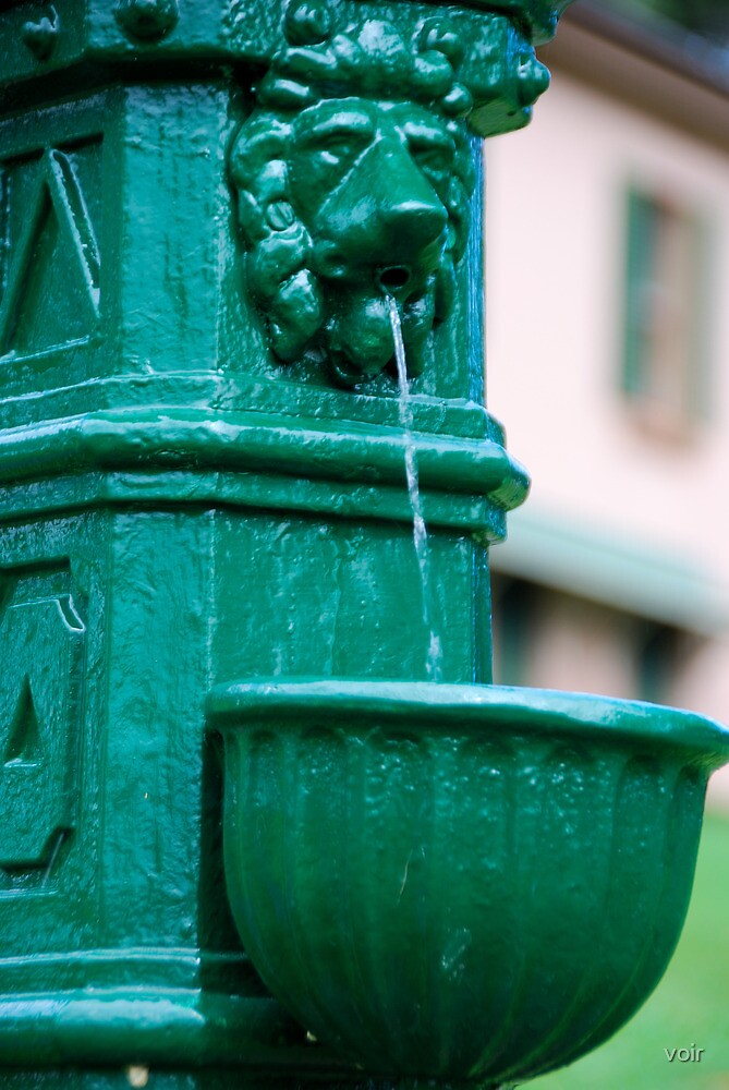 Water Post by voir