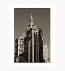 Lámina artística New York Building