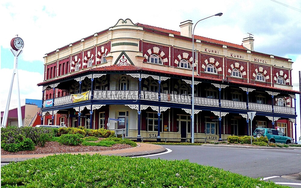 Kurri Kurri Hotel, New South Wales, Australia by Margaret  Hyde