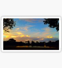 Port Orange Florida Stunning Sunset Sticker
