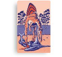 Spinosaurus the Hunter Canvas Print