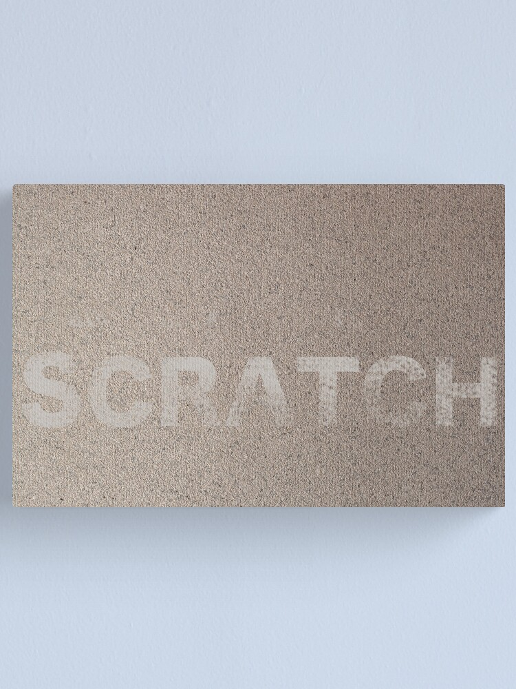 Alternate view of ITCH Canvas Print