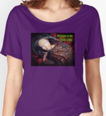 Marbie And Wicker Sqrl At The Black Lodge tee Women's Relaxed Fit T-Shirt