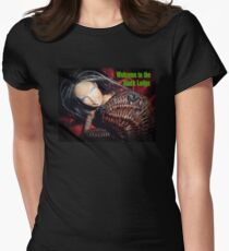 Marbie And Wicker Sqrl At The Black Lodge tee T-Shirt