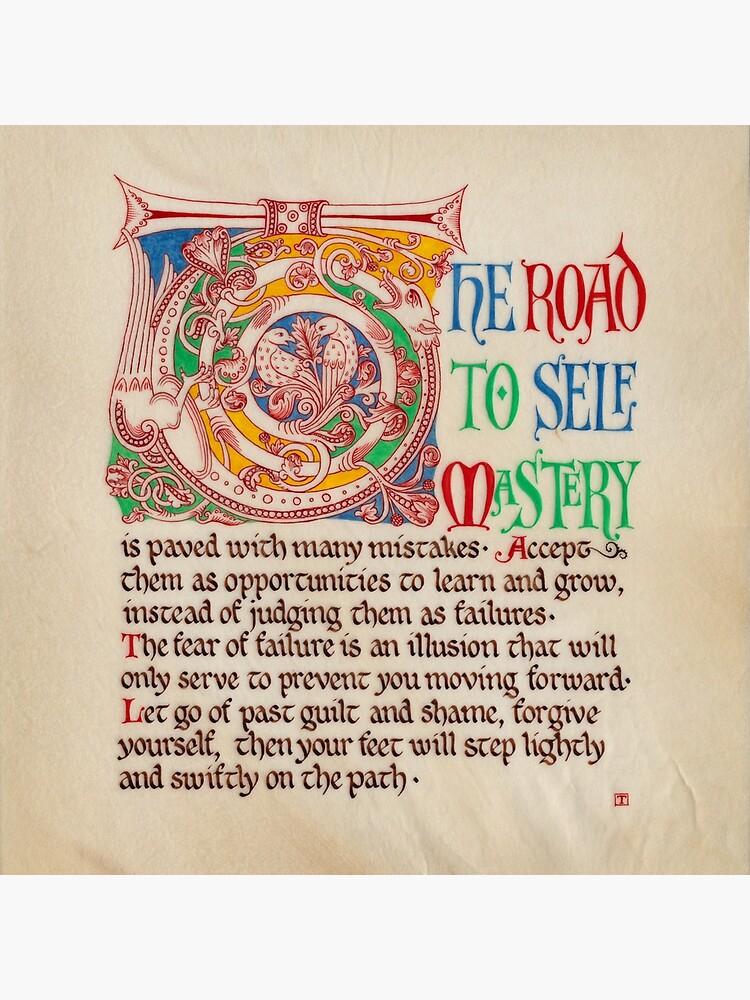 Medieval Illumination - The road to self mastery by TCilluminate