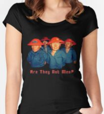 Devo Hugo tee V.1 Women's Fitted Scoop T-Shirt