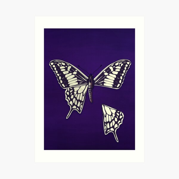 Butterfly: Dismembered Art Print