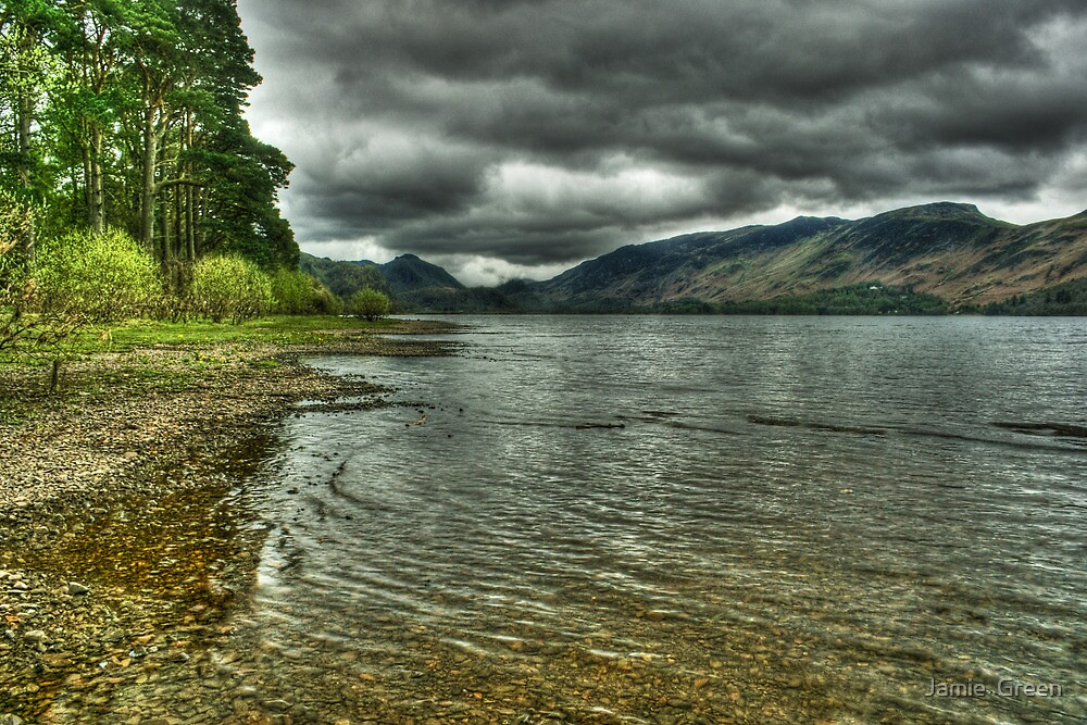 On Derwentwater's Shore by Jamie  Green