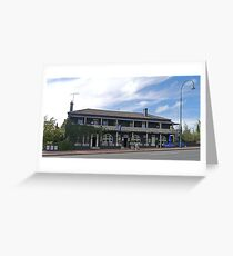 Top Pub, Uralla, New South Wales, Australia  Greeting Card