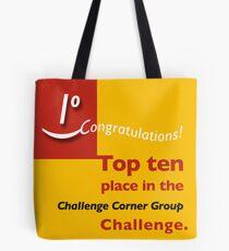 Top ten CCG banner Tote Bag