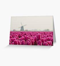 Tulip Ocean Greeting Card