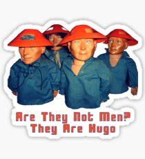 Devo Hugo tee V.2 Sticker