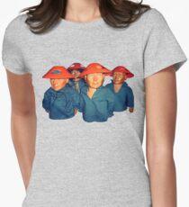Devo Hugo tee V.3 Womens Fitted T-Shirt