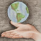 The world in my hand by VanessaPinto