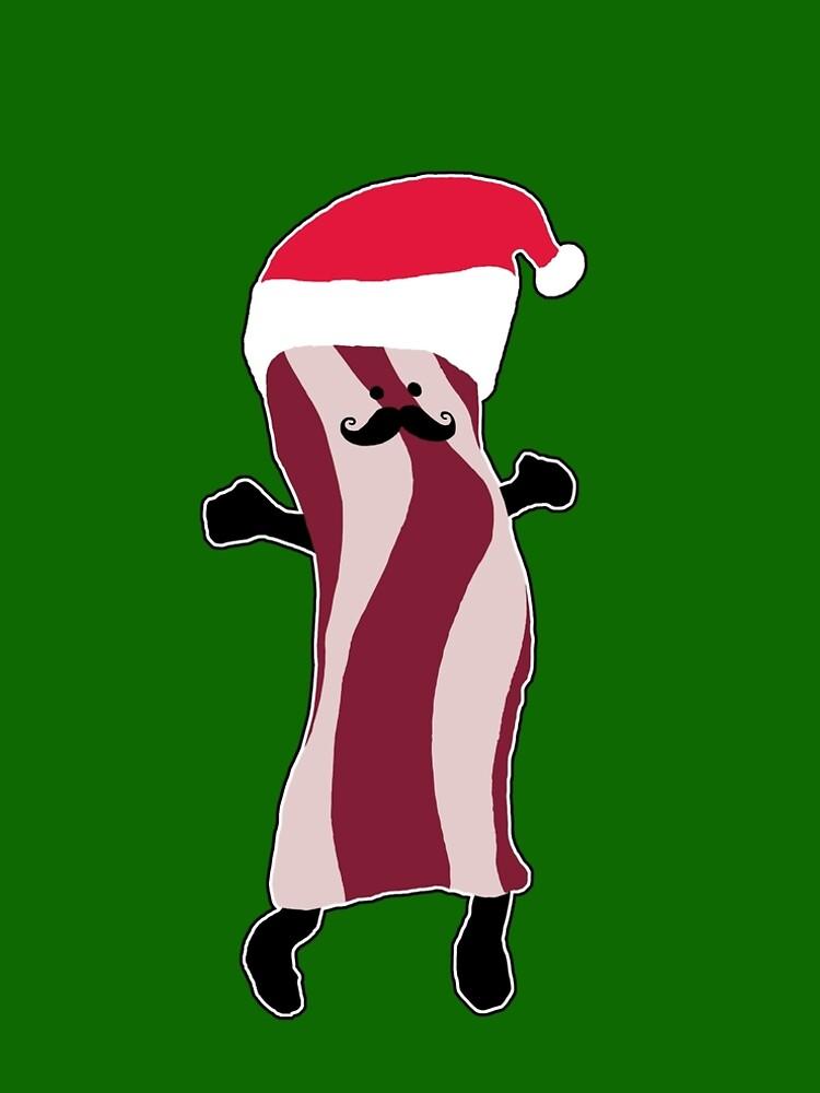 Santa Bacon by Phoole