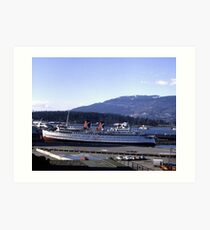 The Princess Patricia in Vancouver Art Print