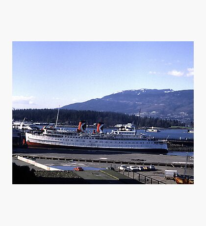 The Princess Patricia in Vancouver Photographic Print
