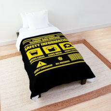 Product Category: SCHOOL BUS DRIVER Comforter