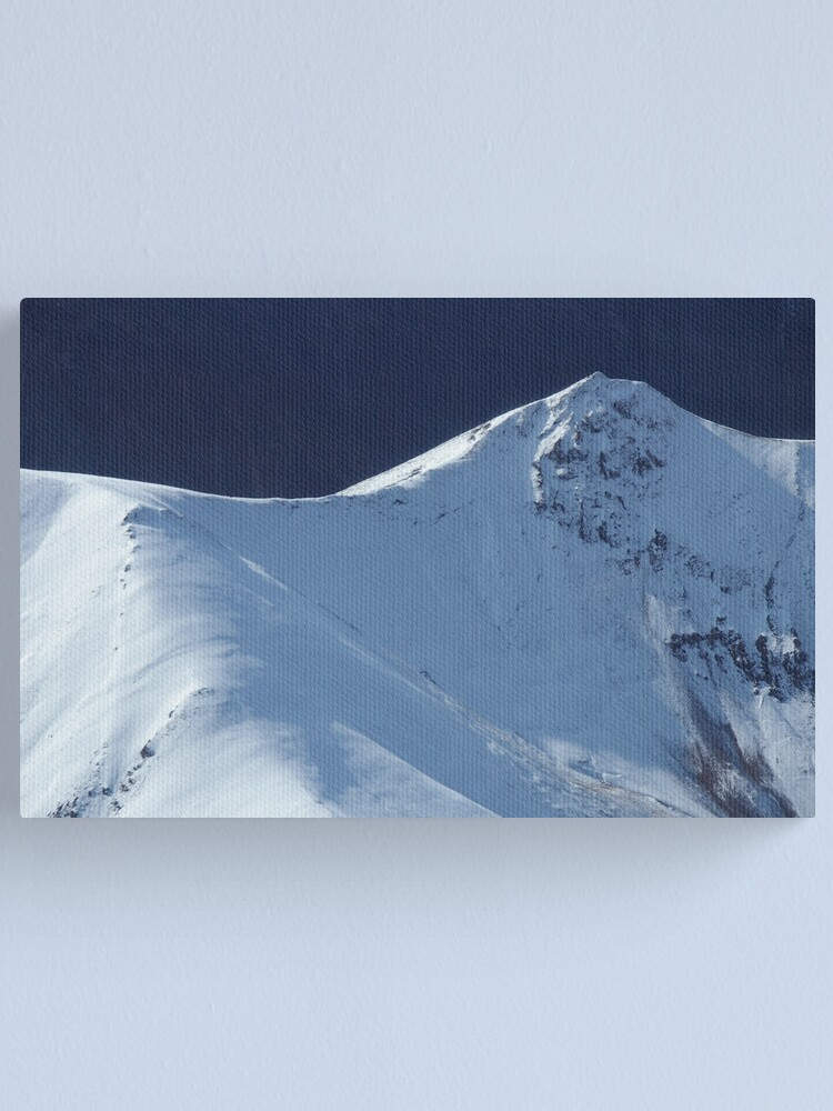 Alternate view of Ice Pick? Check. Crampons? Check. Cameras? Check, Check, Click, Click Canvas Print