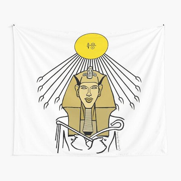 ECHNATON I Ägypten Sonnenkönig Wandbehang