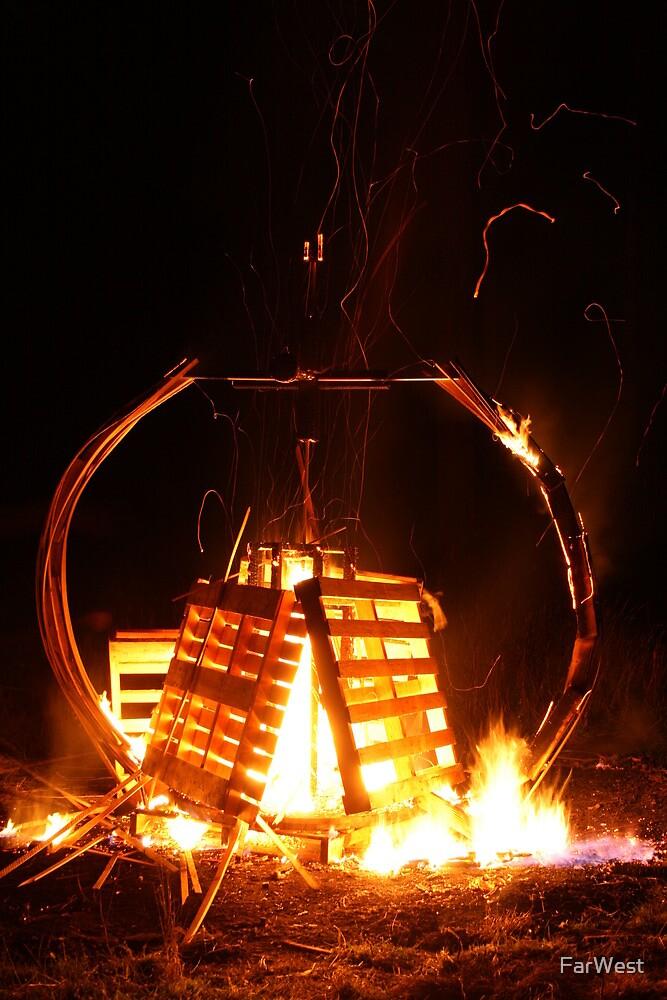 Pallet Fire 1 by FarWest