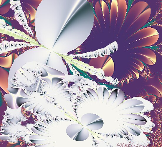 """Fractal Flowers"" by Patrice Baldwin"