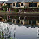 Reflecting on Suburbia by Graham Mewburn