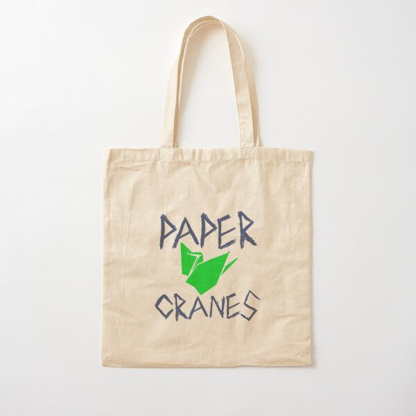 Paper Cranes Cotton Tote Bag
