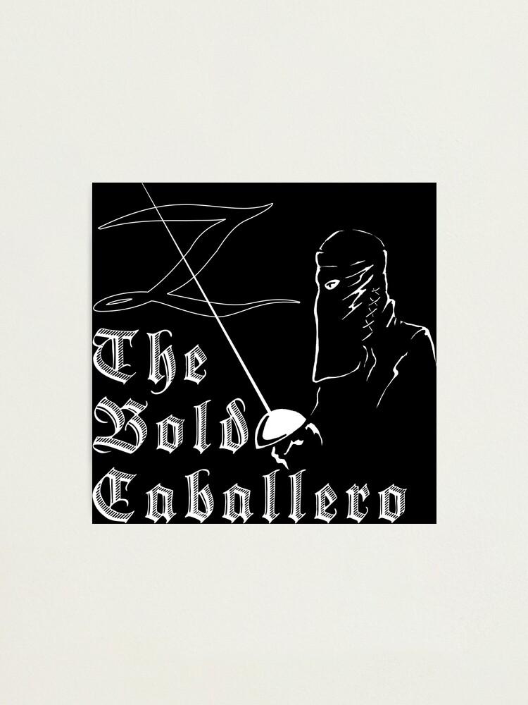 Alternate view of Zorro - The Bold Caballero Photographic Print