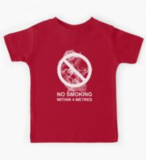 Respect My Choice Not To Smoke (metric) Kids Clothes