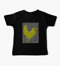 "'The Year Of The Rooster / Cockerel"" Clothing Baby Tee"