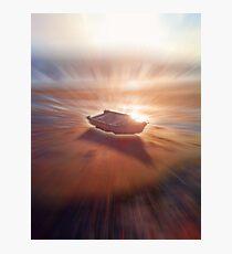 Boat Glow Photographic Print