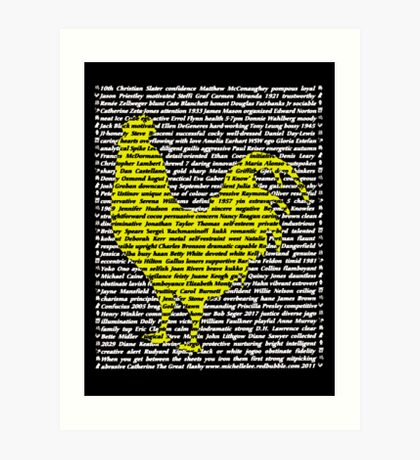 """""""The Year Of The Rooster / Cockerel"""" Art Print"""