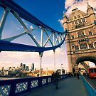 Tower Bridge, London by strangelight