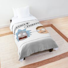 Together forever Morty Comforter