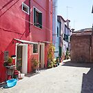 The Red House, Burano by shutterjunkie