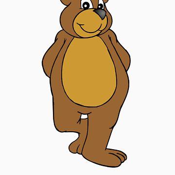 Cute Bear by hokeypokey