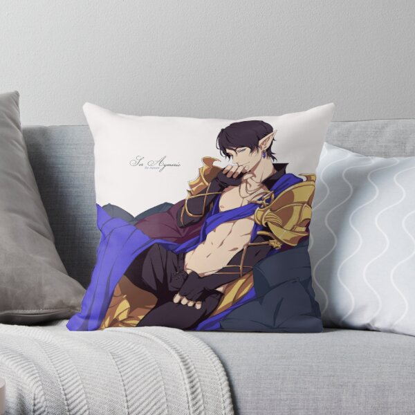 Ser Aymeric Throw Pillow